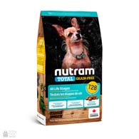 Nutram T28 Total Grain Free Small Breed Salmon & Trout, беззерновой холистик корм для собак малых пород с лососем и форелью