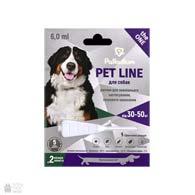 Palladium Pet Line the One, капли на холку от блох, клещей и гельминтов для собак весом 30-50 кг