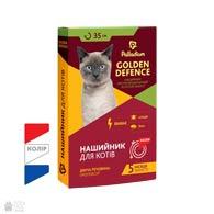 Palladium Golden Defence, ошейник от блох и клещей для кошек, 35 см