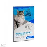 Palladium Ultra Protect, капли от блох и клещей для кошек весом 4-8 кг