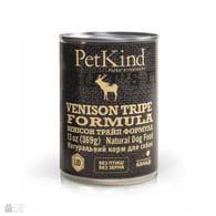 PetKind Venison Tripe Formula, консервы для собак с олениной и рубцом