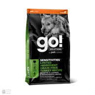 Go! Sensitivities Limited Ingredient Grain Free Turkey, беззерновой корм для взрослых собак и щенков, с индейкой