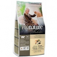 Pronature Holistic Senior Cat Oceanic White Fish & Wild Rice, сухой холистик корм для котов