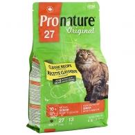 Pronature Original Senior, корм для пожилых и малоактивных котов