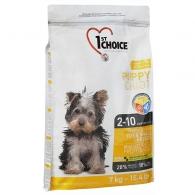 1st Choice Puppy Toy & Small Chicken, корм для щенков мини и малых пород