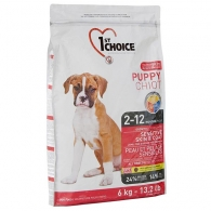 1st Choice Puppy Sensitive Skin & Coat All Breeds, корм для щенков