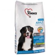1st Choice Adult Medium & Large Chicken, корм для собак средних и крупных пород