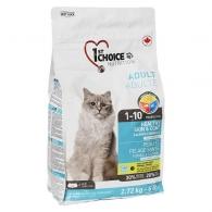1st Choice Adult Healthy Skin&Coat, корм для котов для здоровой кожи и блестящей шерсти