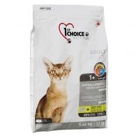 1st Choice Adult Hypoallergenic, беззлаковый корм для котов