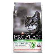 Pro Plan Sterilised Salmon 1,5 кг, корм для кастрированных котов
