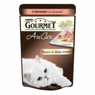 Purina Gourmet A La Carte, кусочки с форелью в подливе 85 г, консервы для котов