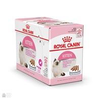 Корм консервы для котят Royal Canin KITTEN INSTINCTIVE в паштете (коробка 12 пакетиков)