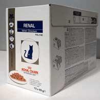 Фото упаковки корма для кошек Royal Canin RENAL