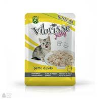 Консервы для котят Vibrisse Jelly Kittens с куриной грудинкой в желе