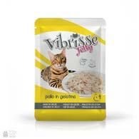 Консервы в паучах для котов Vibrisse Jelly с куриным филе в желе