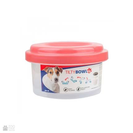 Миска-непроливайка для собак и кошек Tilty Bowl