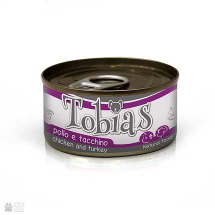 Консервы для собак Tobias с курицей, индейкой