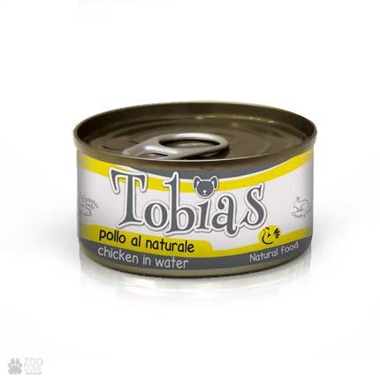 Консервы для собак TOBIAS с курицей в собственном соку