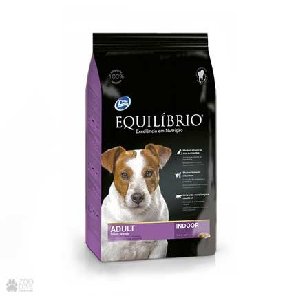 Сухой корм для собак мелких пород Equilibrio Adult Small Breeds