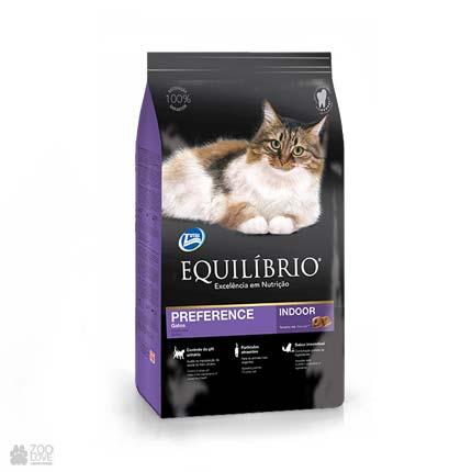корм для привередливых котов Equilibrio Preference