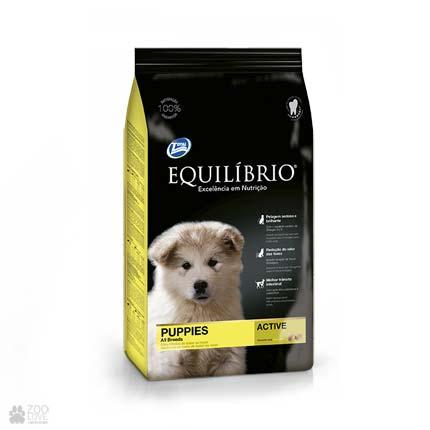 корм для щенков средних пород Equilibrio Puppy Medium Breeds