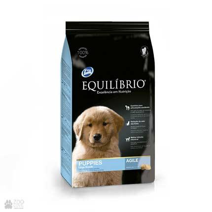 корм для щенков крупных пород Equilibrio Puppies Large Breeds