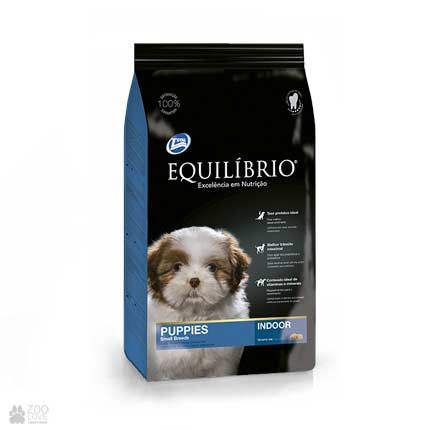 Сухой корм для щенков мелких пород Equilibrio Puppies Small Breeds