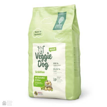 Green Petfood VeggieDog Adult Grainfree, беззерновой сухой корм для собак