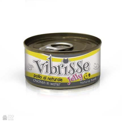 Консервы для котов Vibrisse Jelly с куриным филе в желе