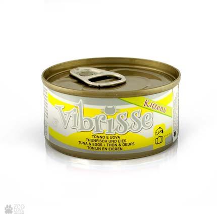 Консервы для котят Vibrisse с тунцом, яйцами