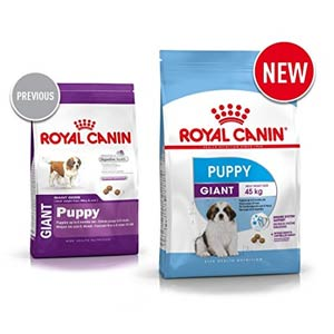Royal Canin Giant Junior становится Puppy