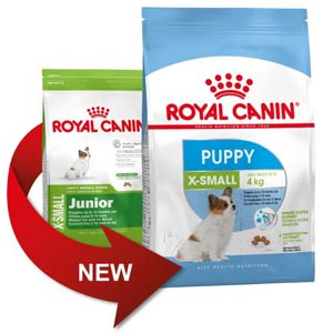 Royal Canin X-Small Junior становится Puppy